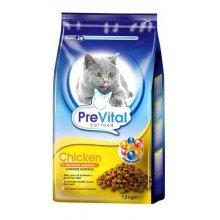 PreVital - корм ПреВитал с курицей и овощами для кошек