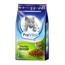 PreVital - корм ПреВитал с птицей для стерилизованных кошек