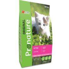 Pronature Original Kitten - корм Пронатюр Ориджинал с курицей и овсянкой для котят