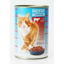 Reno - консервы Рено с говядиной для кошек