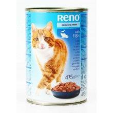 Reno - консервы Рено с рыбой для кошек