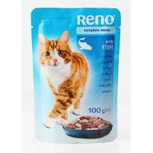 Reno - консервы Рено рыба в соусе для кошек, пауч