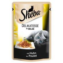Sheba Delikatesse - корм Шеба с курицей в желе