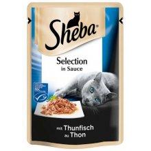 Sheba Selection - корм Шеба с тунцом в соусе