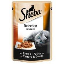 Sheba Selection - корм Шеба с уткой и индейкой в соусе