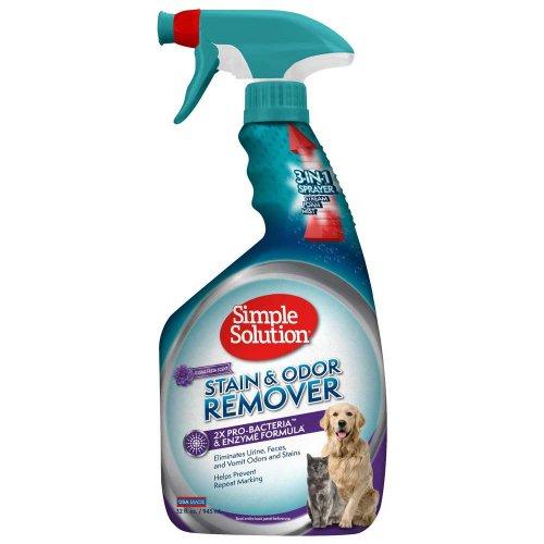Simple Solution Stain Odor Remover Floral Fresh - средство Симпл Солюшн для удаления пятен и запахов