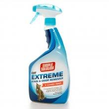 Simple Solution - средство Симпл Солюшн для удаления запахов мочи и пятен для кошек