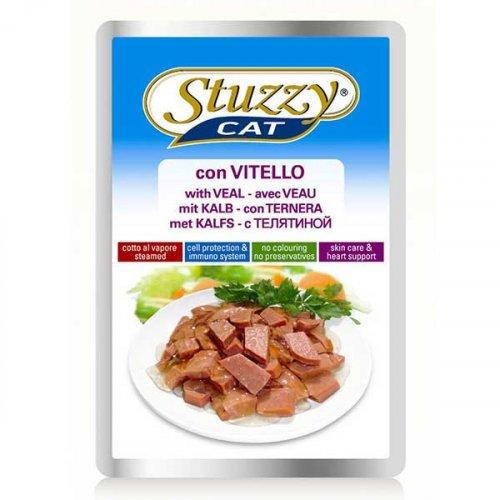 Stuzzy Cat - консервы Штуззи с телятиной в соусе для кошек