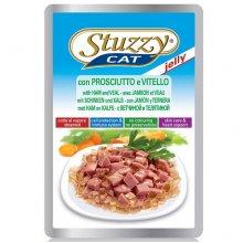 Stuzzy Cat - консервы Штуззи с ветчиной и телятиной в желе для кошек