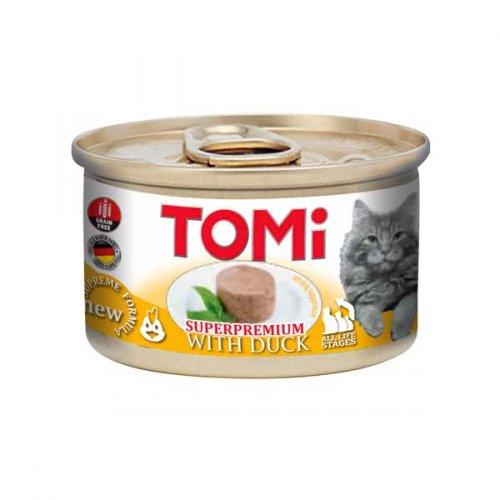 TOMi - мусс ТОМи с уткой для кошек