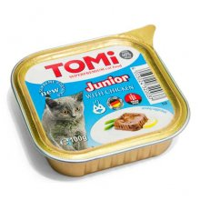 TOMi - паштет ТОМи с курицей для котят