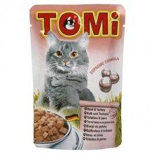 TOMi - консервы ТОМи с телятиной и индейкой для кошек