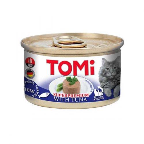 TOMi - мусс ТОМи с тунцом для кошек