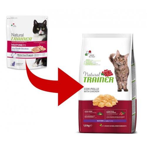 Trainer Natural Mature Chicken - корм Трейнер для пожилых кошек