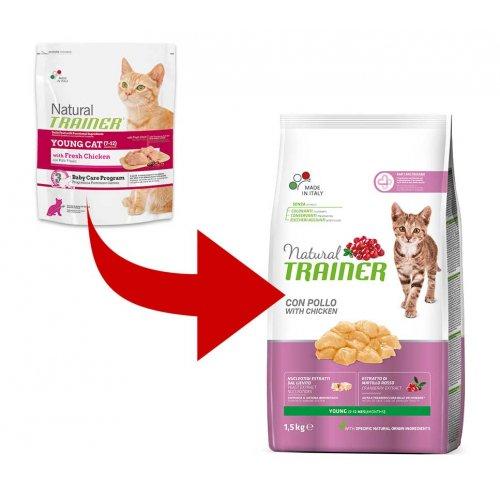 Trainer Natural Young Cat - корм Трейнер для молодых кошек