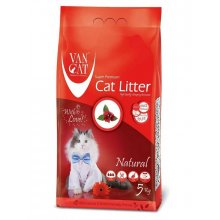 Van Cat Natural - комкующийся наполнитель Ван Кет без аромата