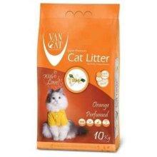 Van Cat Orange - комкующийся наполнитель Ван Кет с ароматом апельсина