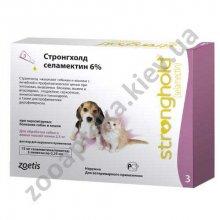 Zoetis Stronghold - Стронгхолд для щенков и котят (до 2,5 кг)