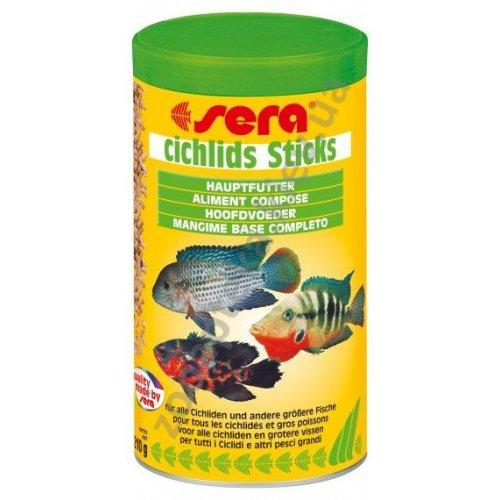 Sera Cichlids Sticks - корм Сера для цихлид средних и крупных размеров