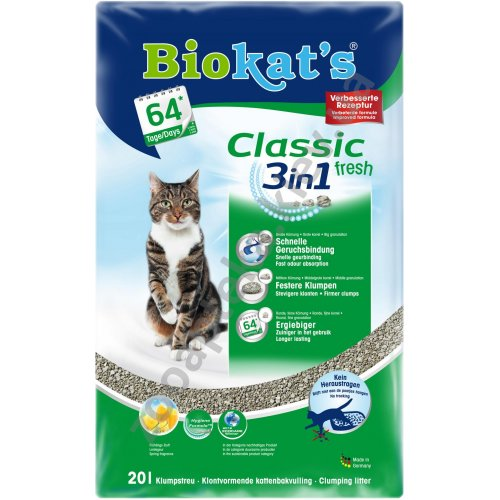 Gimpet Biokats Classic Fresh - наполнитель Гимпет Биокетс Классик Фреш