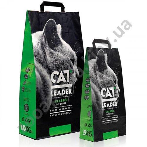 Cat Leader Classic - супер-впитывающий наполнитель Кэт Лидер Классик