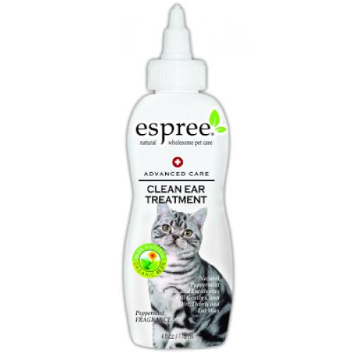 Espree Clean Ear Treatment - очиститель ушей Эспри для кошек с мятой