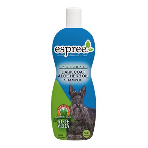 Espree Dark Coat Aloe Herb Oil Shampoo - шампунь Эспри для темной шерсти