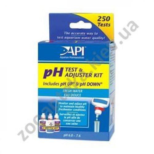 API Freshwater Deluxe pH Test Kit - набор АПИ для измерения и изменения уровня pH