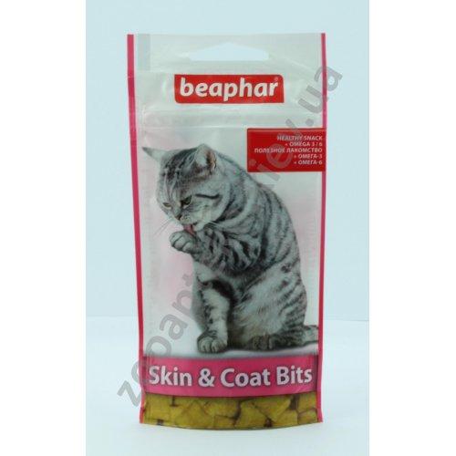 Beaphar SkIn & Coat Bits - кормовая добавка Бифар