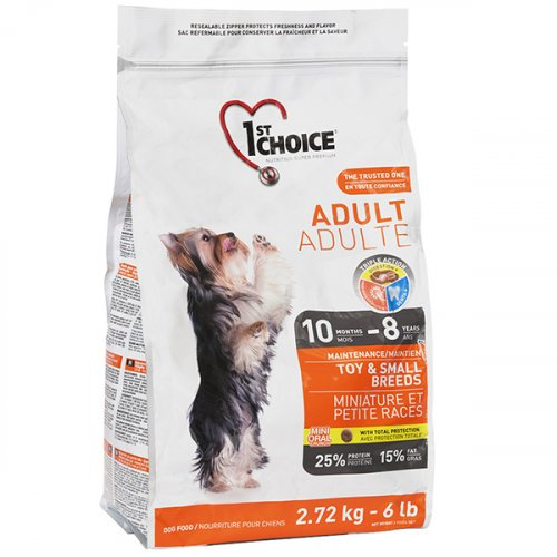 1-st Choice Adult Mini Small Breed - корм Фест Чойс для взрослых собак миниатюрных и мелких пород