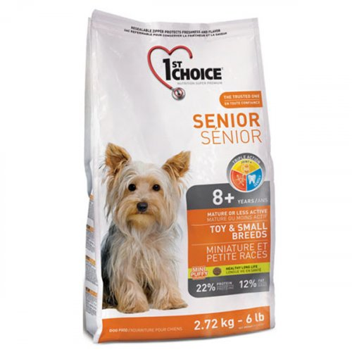 1-st Choice Senior Mini and Small Breed - корм Фест Чойс для пожилых собак мелких пород
