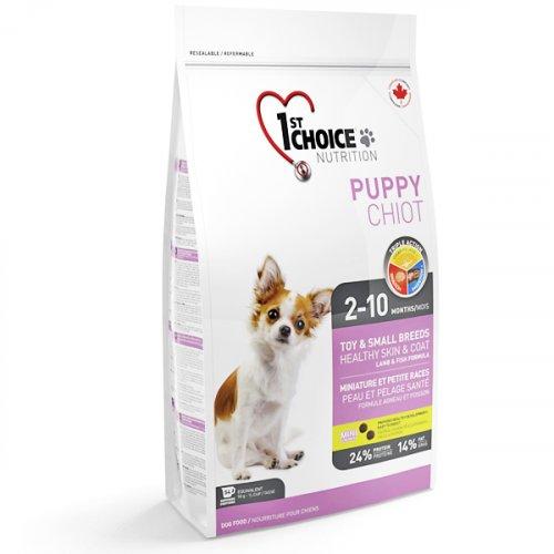 1st Choice Puppy Mini Fish&Lamb - корм Фест Чойс для щенков мини пород с рыбой и ягненком