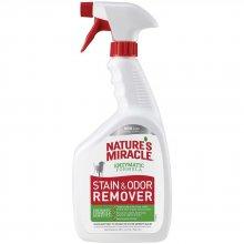 Natures Miracle Dog Stain Odor Remover - уничтожитель пятен и запаха собак Нейчерс Миракл, спрей