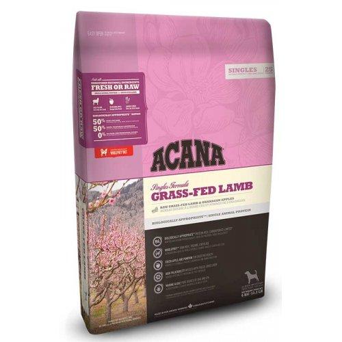 Acana Grass-Fed Lamb - корм Акана с ягненком и яблоками для собак
