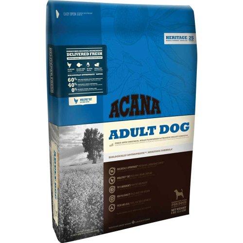 Acana Adult Dog Chicken & Greens - корм Акана для собак всех пород и возрастов