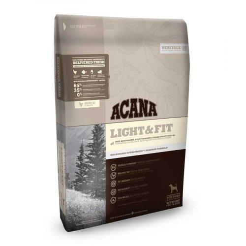 Acana Heritage Light & Fit - корм Акана для собак с избыточным весом