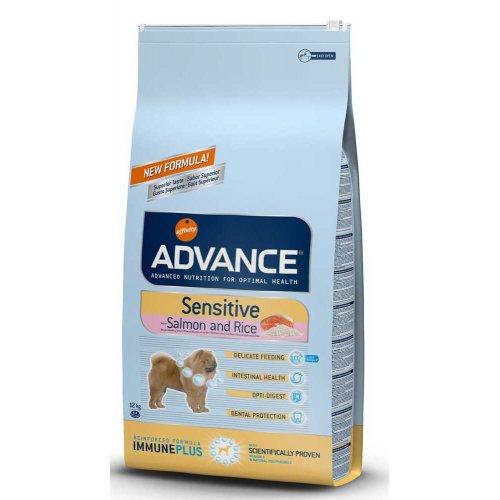 Advance Sensitive - корм Эдванс гипоаллергенный для взрослых собак всех пород