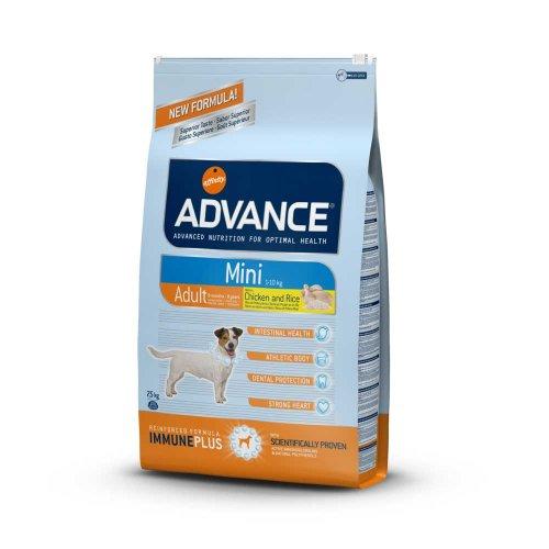 Advance Mini Adult - корм Эдванс для взрослых собак мелких пород