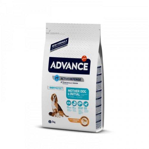 Advance Mother Dog and Initial - корм Эдванс для кормящих собак и щенков от 3 недель до 2 месяцев