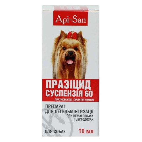 Апи-Сан Празицид-суспензия для взрослых собак