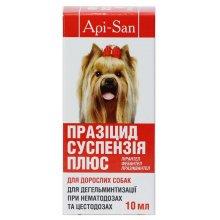 Апи-Сан Празицид-суспензия Плюс для взрослых собак