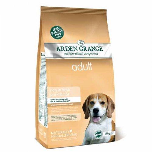 Arden Grange Adult Dog Pork & Rice - корм Арден Гранж со свининой и рисом для собак
