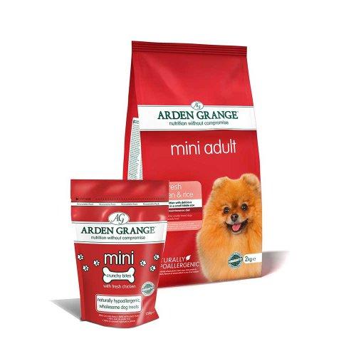 Arden Grange Mini Adult - корм Арден Гранж для мелких пород собак