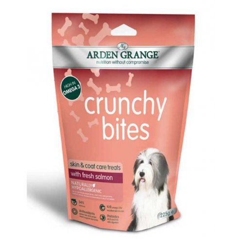 Arden Grange Crunchy Bites Salmon - лакомство Арден Гранж с лососем для собак