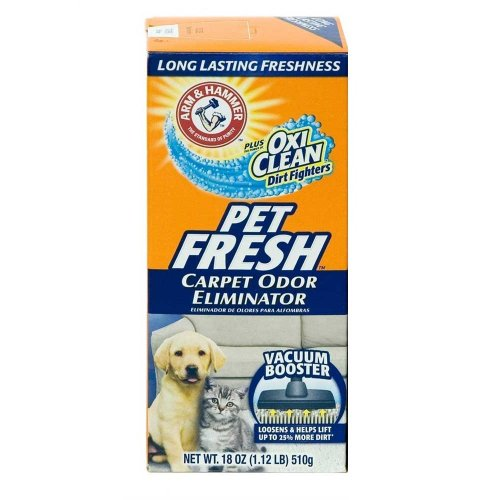 Arm & Hammer Pet Fresh - дезодорант Арм и Хаммер для ковров в форме порошка