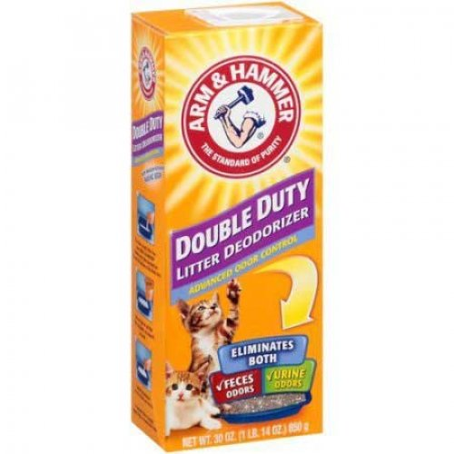 Arm & Hammer Double Duty - дезодорант Арм и Хаммер Двойная Сила для кошачьего туалета