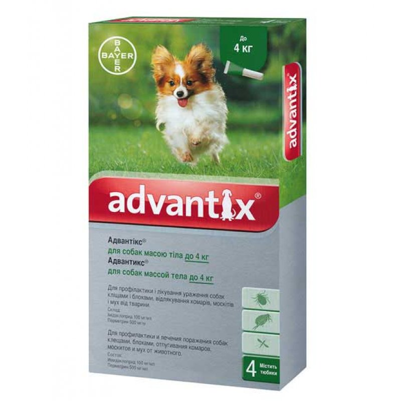 Адвантикс капли для собак инструкция