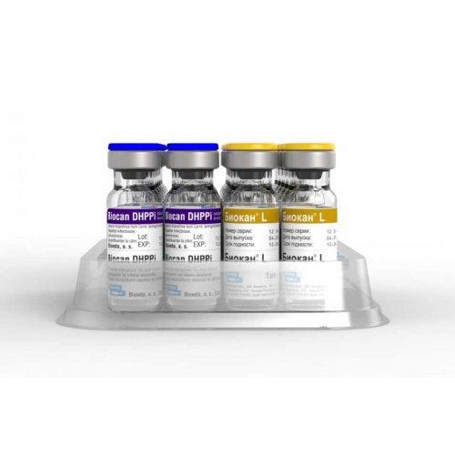Bioveta Biocan DHPPi+L - вакцина Биовета Биокан ЧГПП+Л
