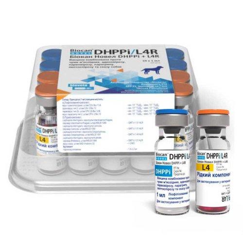Biocan Novel DHPPi + L4R - вакцина Биокан Новел DHPPi + L4R