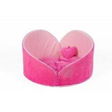 Zoom-Zoom Angel Heart - лежанка Зум-Зум Сердце Ангела, розовая